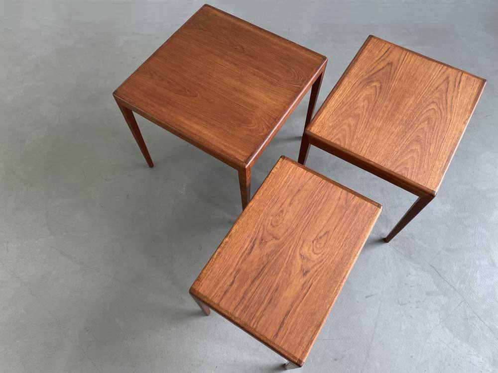 Beistelltische, 60er Jahre, Nesting Tables