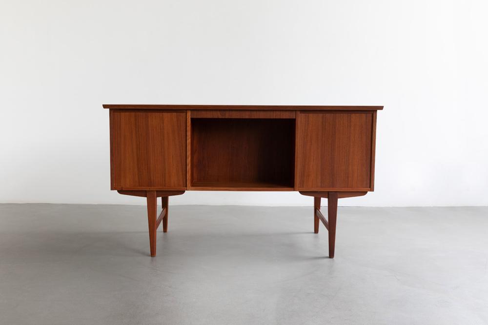 Schreibtisch Teakholz vintage 60er