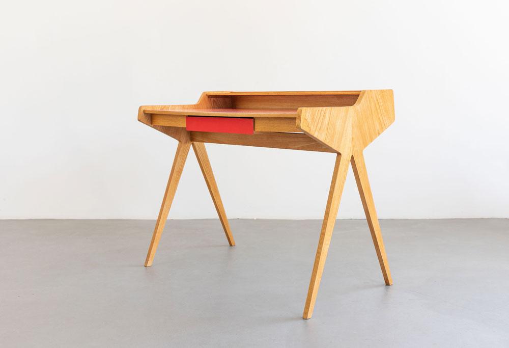Mid-century Schreibtisch, WK Möbel