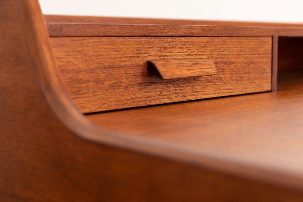 Desk, Teak, 50er Jahre, restauriert