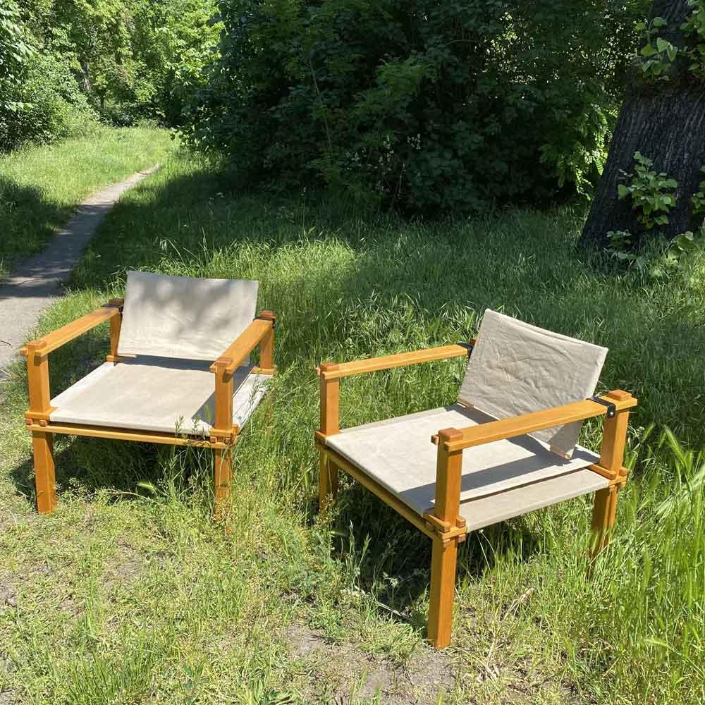 Vintage Stuhl, outdoor und indoor