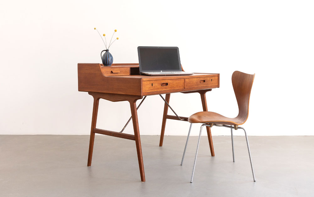 Desk, Schreibtisch, Mid-century