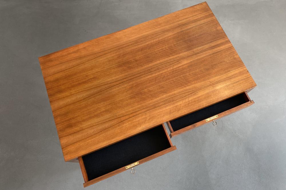 Schreibtisch restauriert retro teak