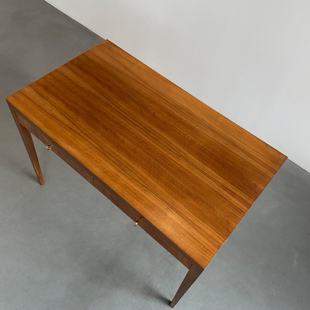 Schreibtisch teak Furnier midcentury