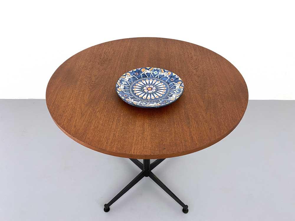 Esstisch rund, 60er, Mid-century