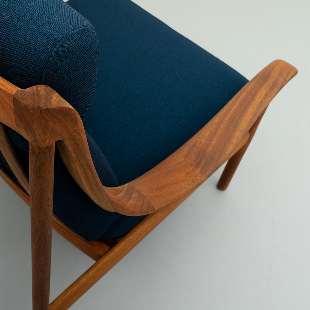 Detailansicht 60er Jahre Teak Sessel