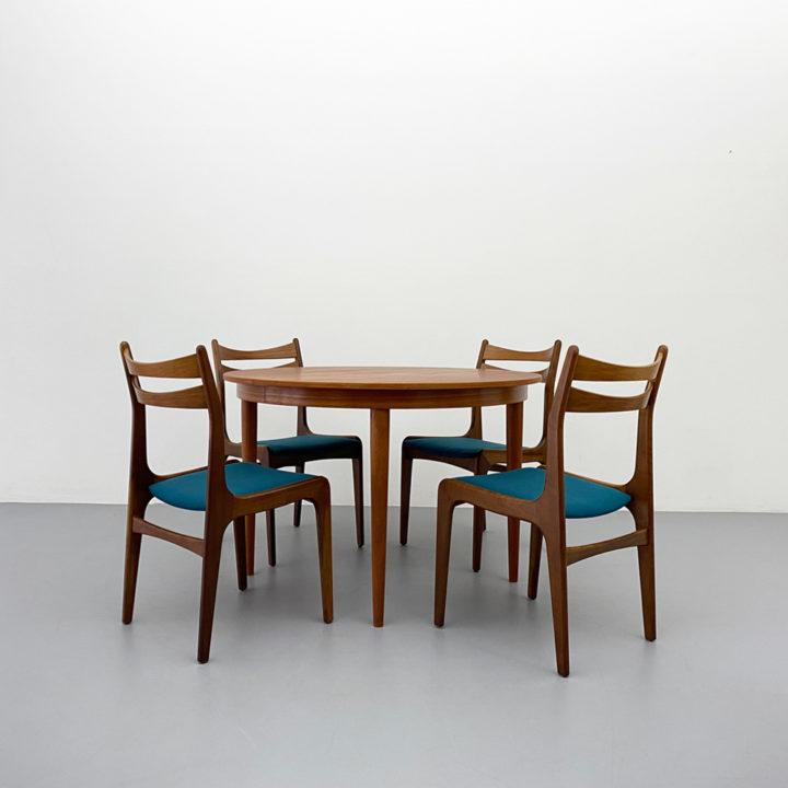 60er Jahre Teak Stühle