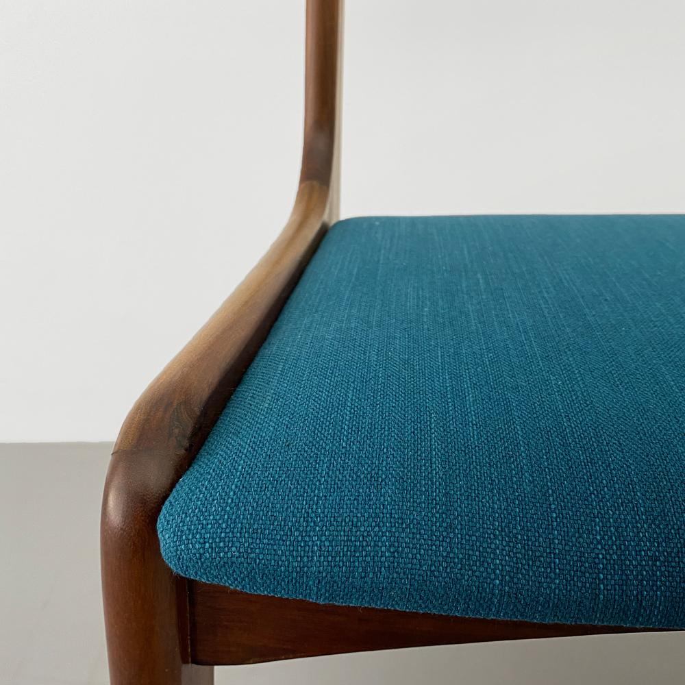 Sitzpolster 60er Jahre Teak Stühle