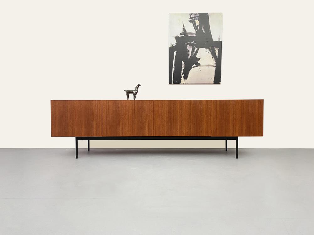 Teak Sideboard, Dieter Waeckerlin, 50er Jahre