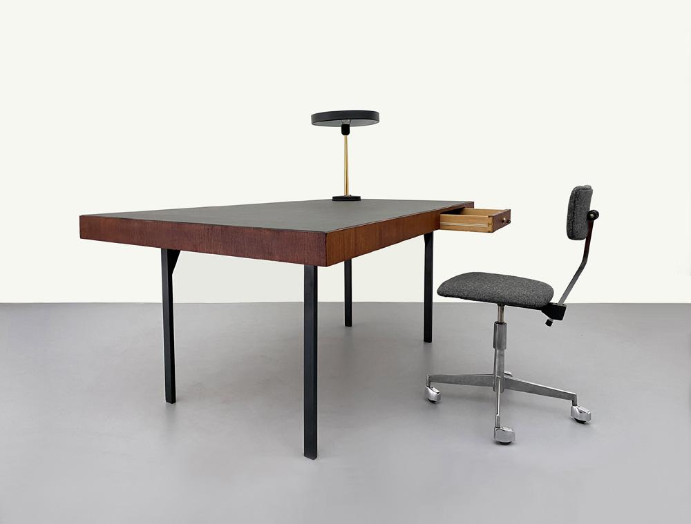 Schreibtisch, Mid-century, Teak furniert