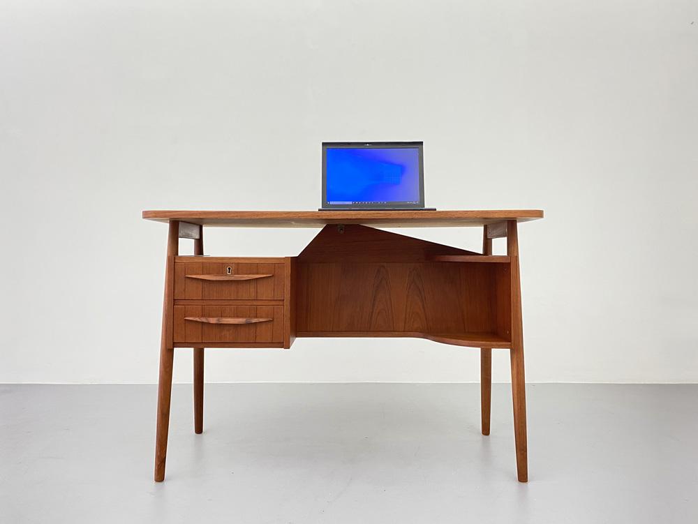Kleiner Teak Schreibtisch, Tibergaard
