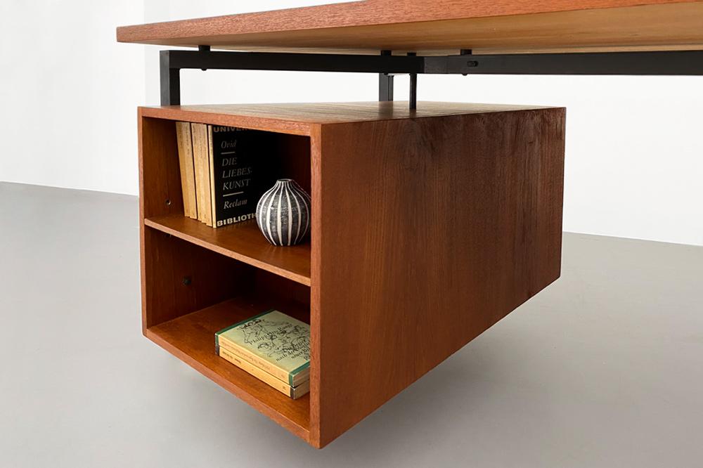 60er Hirche Container Schreibtisch