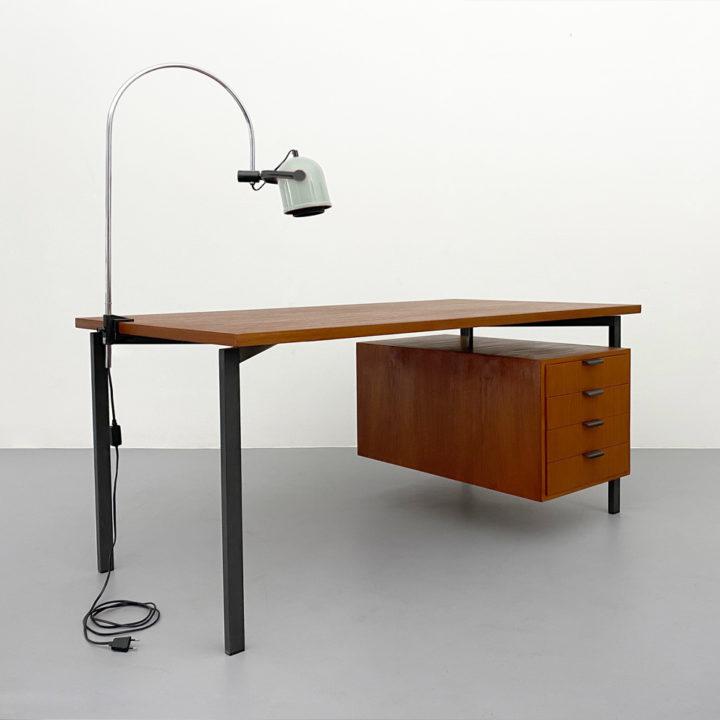 Herbert Hirche Teak Schreibtisch von 1957