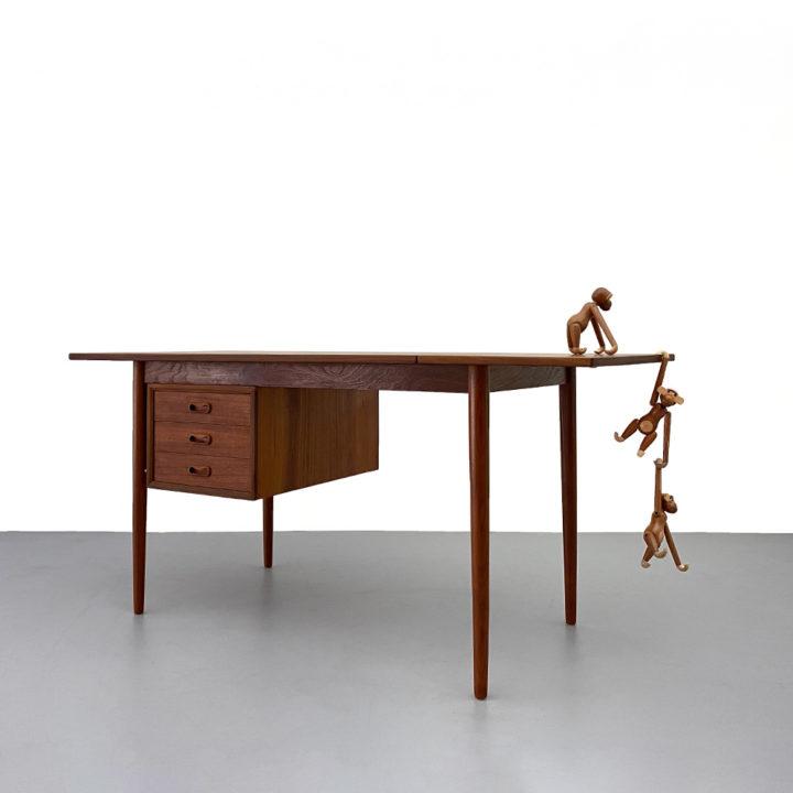 Arne Vodder Teak Schreibtisch