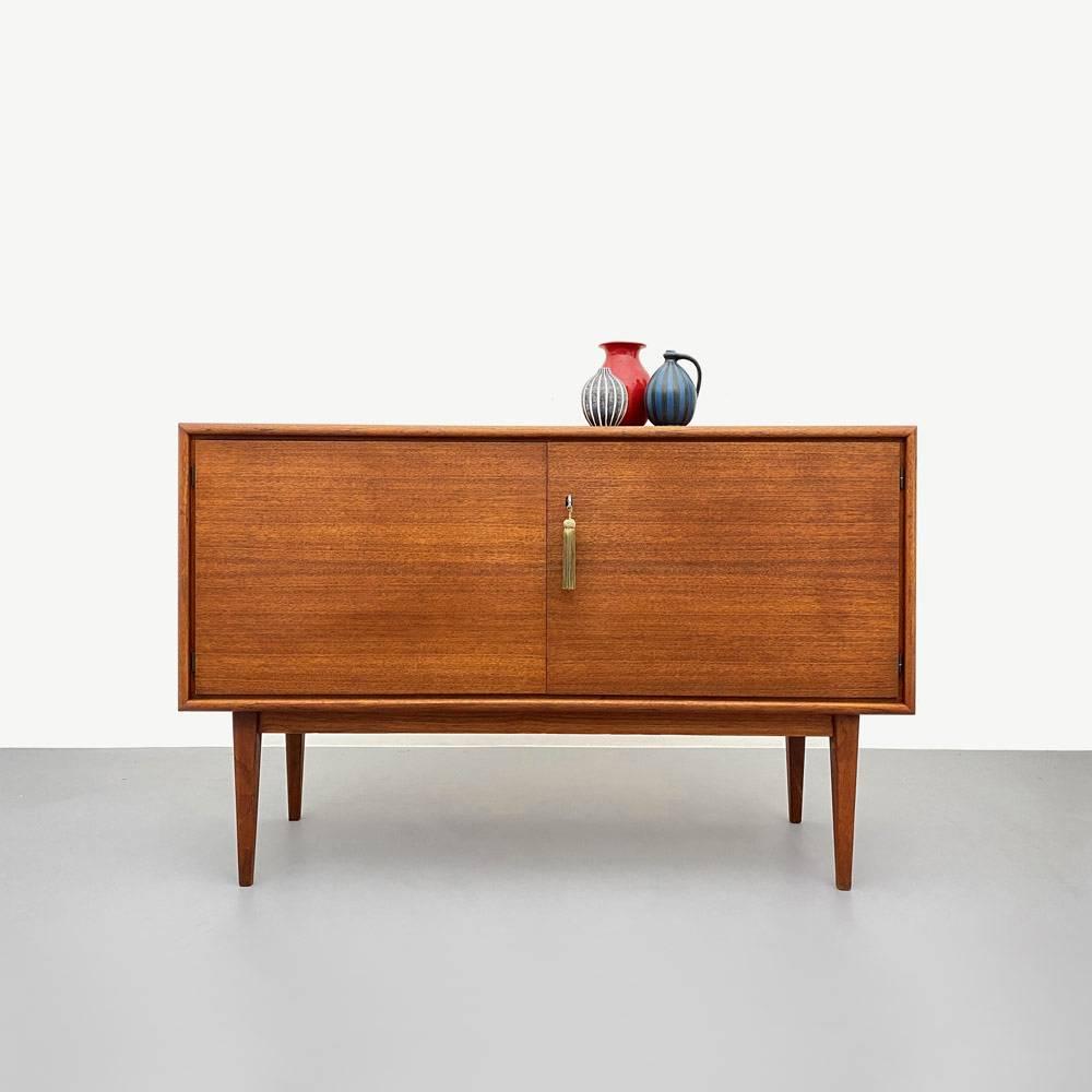 60er Jahre Teak Sideboard, WK Möbel