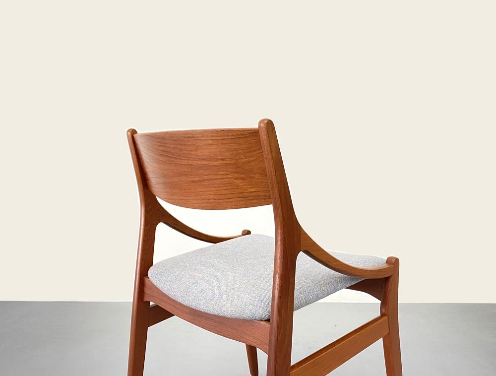 Teakholz Stühle, Vintage, restauriert