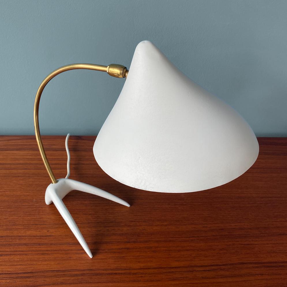 midcentury Tischlampe 50er vintage